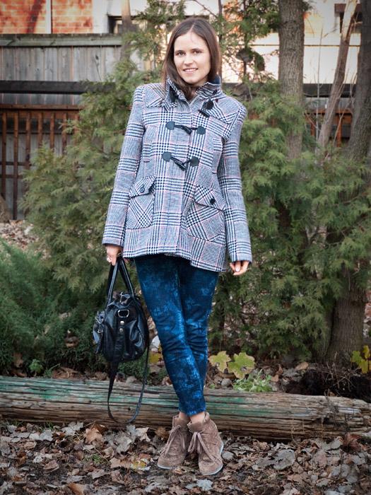 Tie-Dye Bleached Denim DIY: Skinny Jeans Outfit