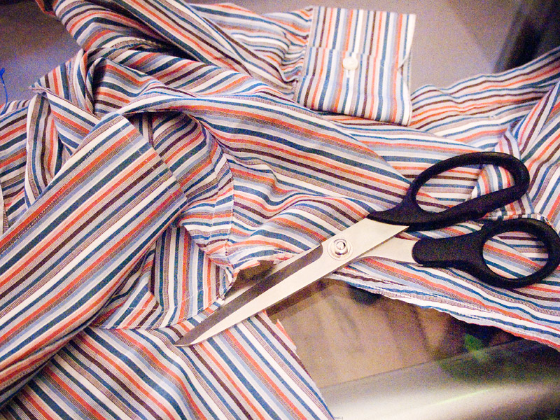 How To Make Scarf Made Of Shirts DIY Instructions