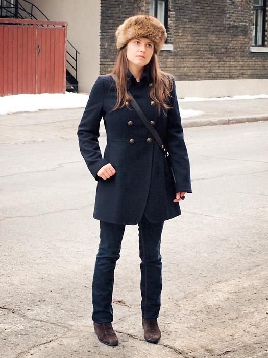 Winter Outfit: Vintage German Hat