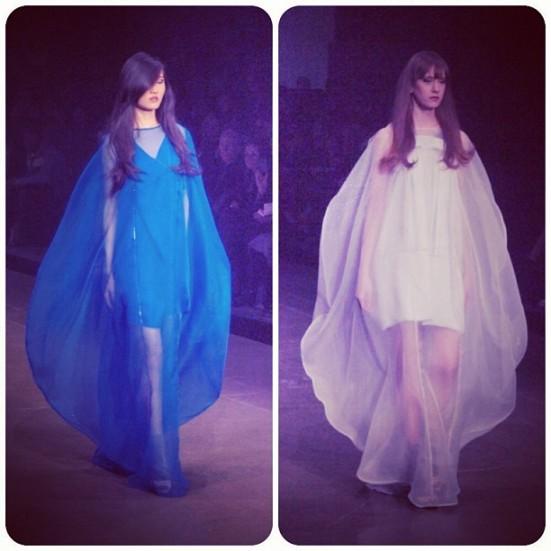 Montreal Fashion Week: Fall/Winter Martin Lim dresses