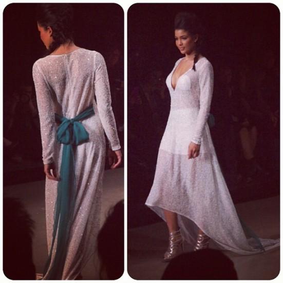 Montreal Fashion Week: Ralph Leroy Dress