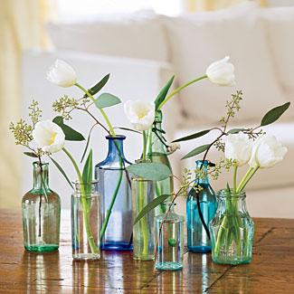 DIY Vases For St-Valentine Flowers