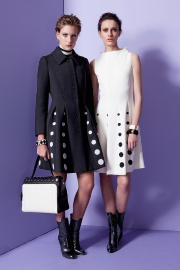 Polka Dot DIY Inspiration: Style MOSCHINO Pre-Fall 2013