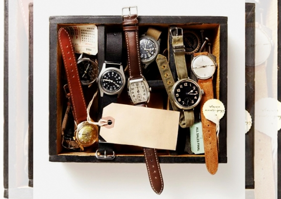diy inspiration vintage second hand watches