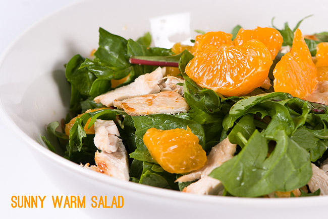 Roasted Turkey And Tangerine Salad