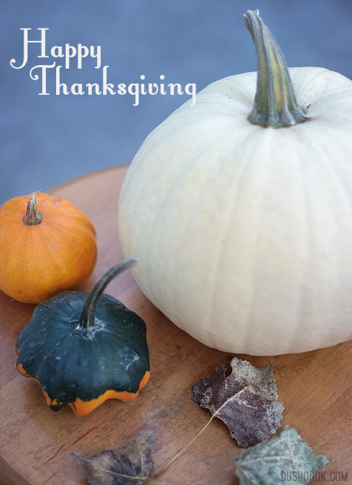 Happy Thanksgiving, Canada!