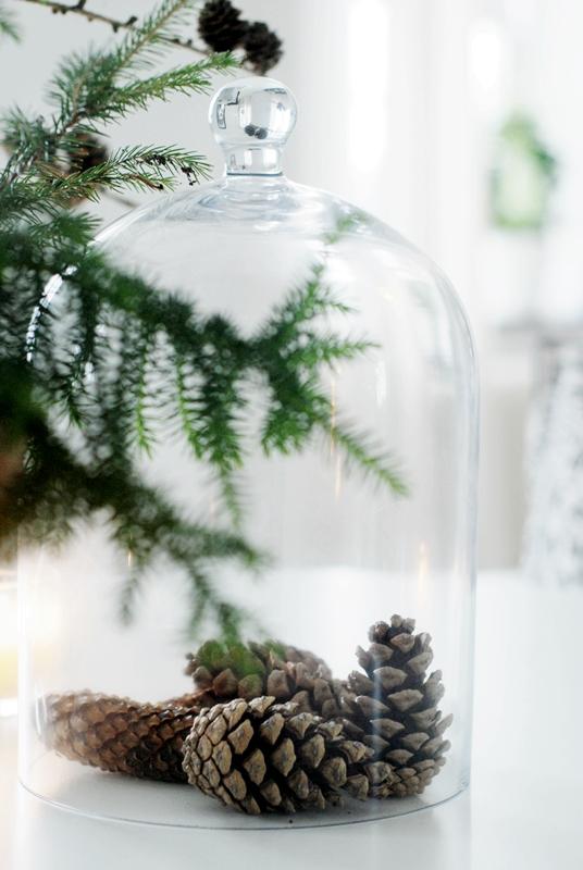 Christmas DIY: Pine cones