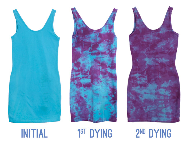 How To Get Rid of Stains With Tie Dye DIY Process