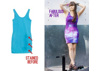 How To Get Rid of Stains With Tie Dye DIY