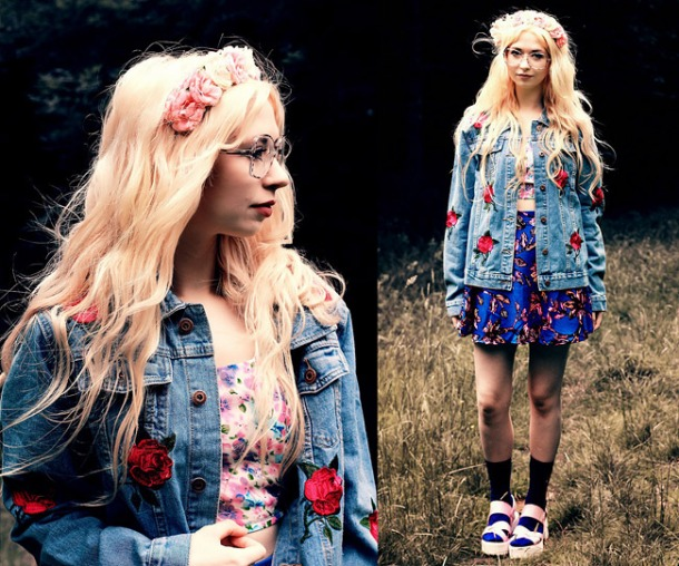 Fall DIY: Denim Jacket With Patches
