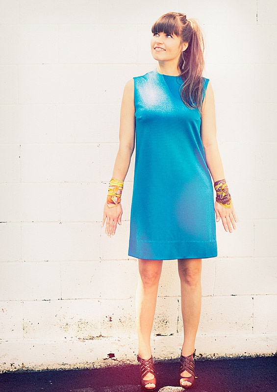 How To Wear Vintage 1970s Dresses