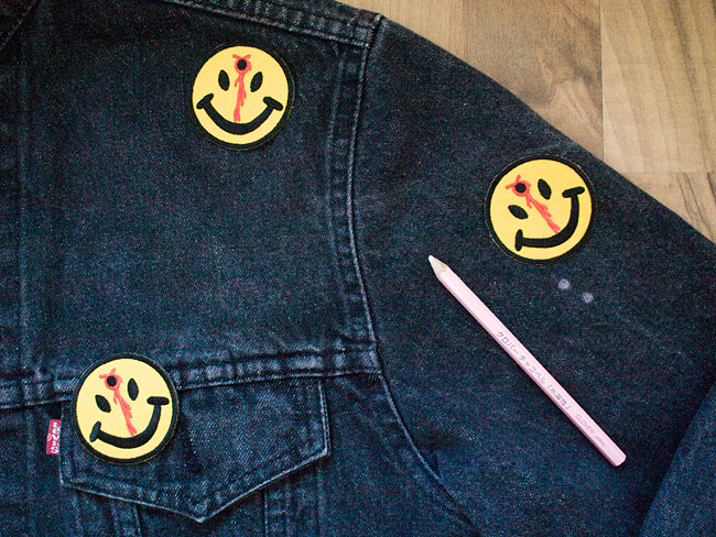 Patched Jacket Without Any Sewing: Instructions