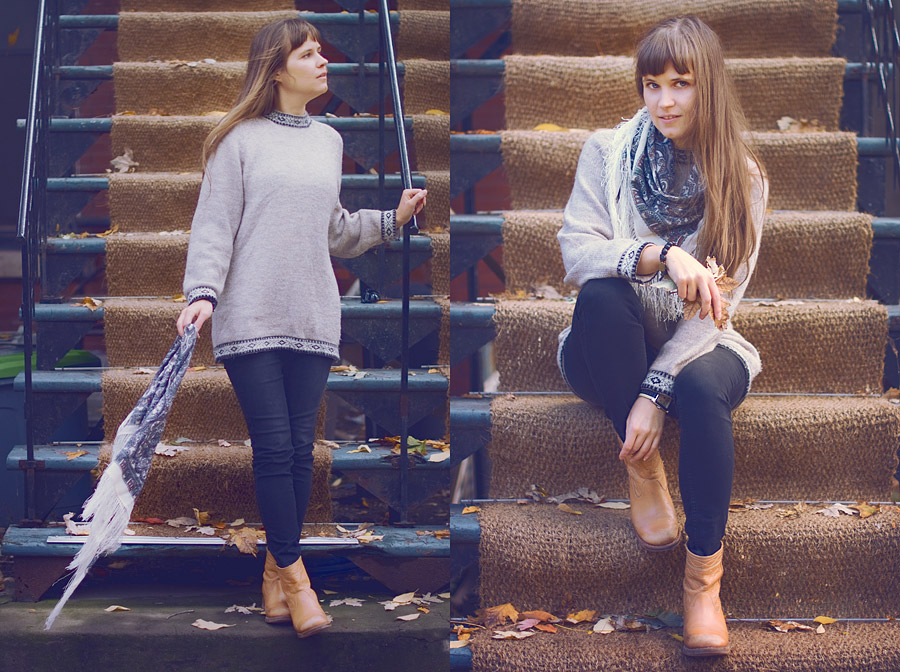 My Fall Wardrobe Essentials: Vintage Sweaters (Part 3/3)