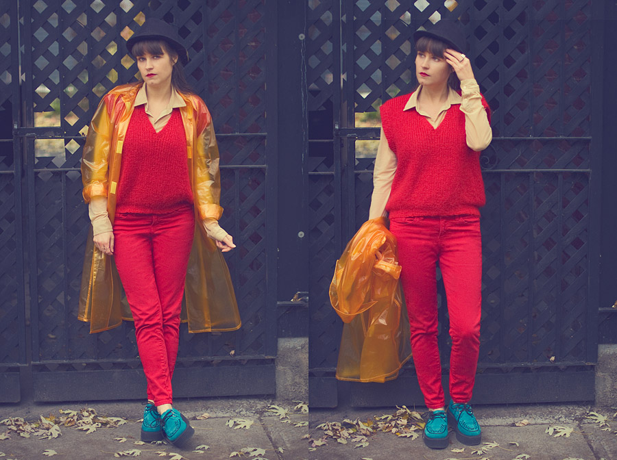 Two Bold Colors That Make Me Hungry For Color Blocking