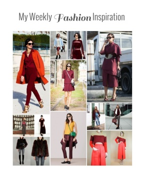 My Weekly Fashion Inspiration: Marsala, Controversial New Hue For2015